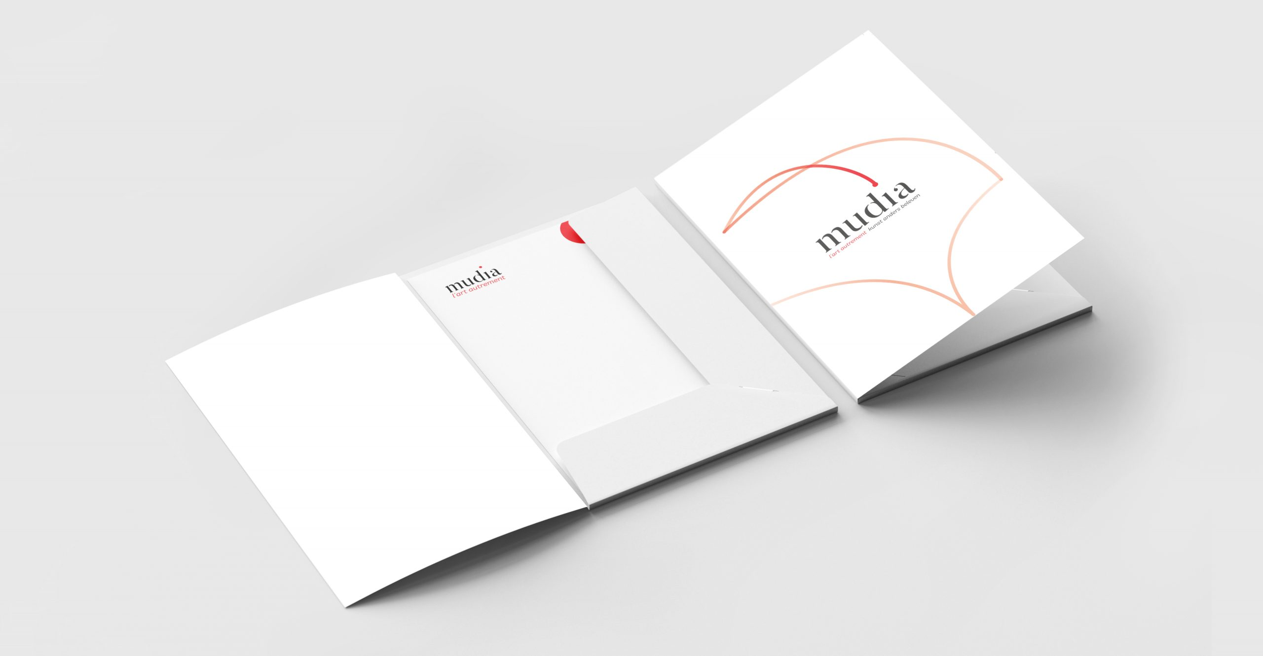 Branding of a folder