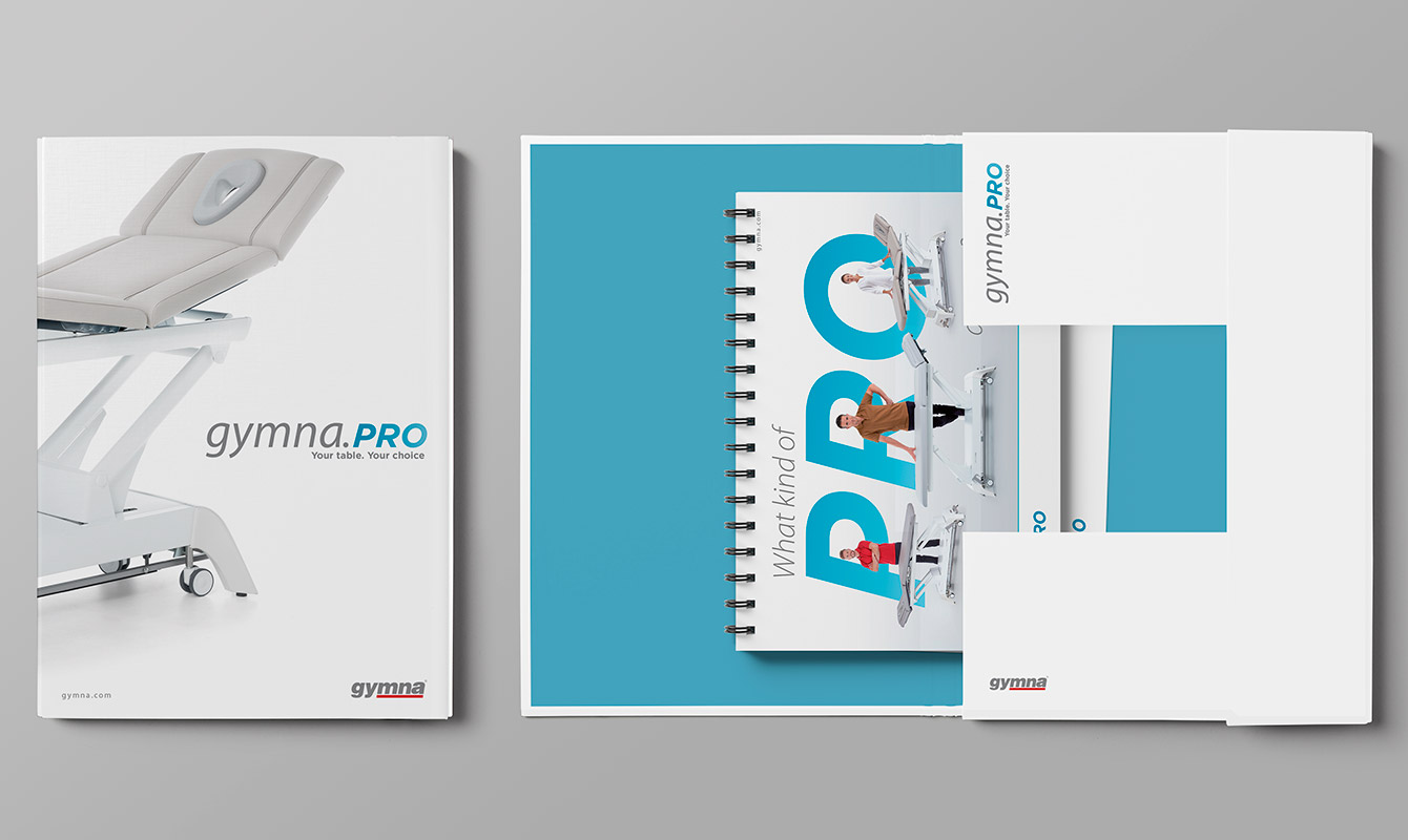 Folder and wire'o brochure
