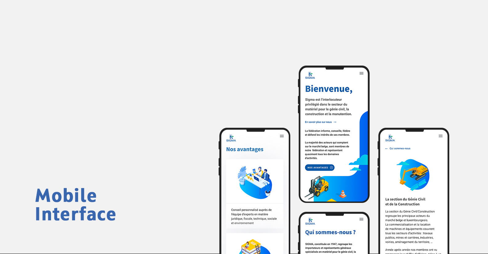 Website in iPhone