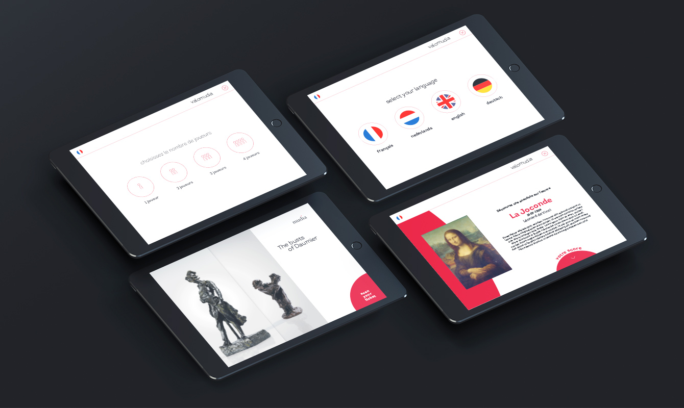 Branding for digital applications for a museum