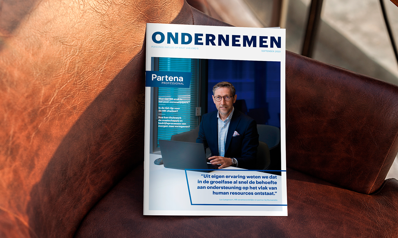Partena Entreprendre magazine